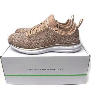 APL Rose Gold TechLoom Phantom Sneakers 8.5